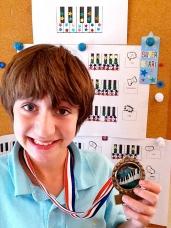 Alex and medals